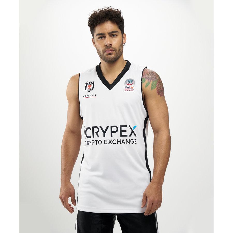 Beşiktaş Basketbal Shirt Wit 20-21