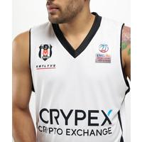 Beşiktaş Maillot Basket-Ball Blanc 20-21
