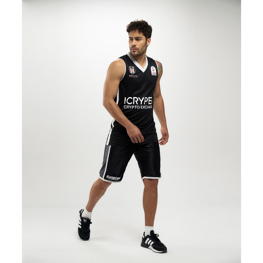 Beşiktaş Basketball Trikot Schwarz 20-21