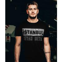 Beşiktaş 'İstanbul Siyah Beyaz' T-Shirt Pour Hommes