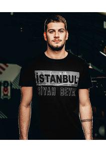 Beşiktaş 'İstanbul Siyah Beyaz' T-Shirt Heren
