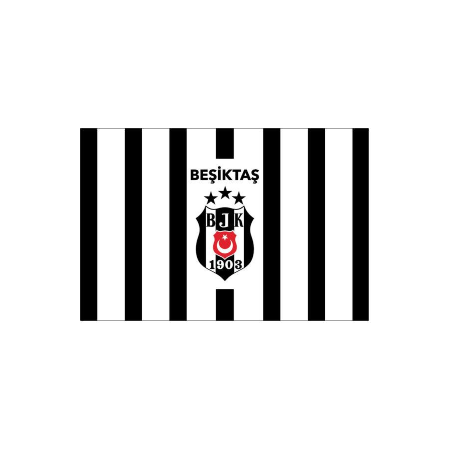 Beşiktaş Drapeau à rayures 100*150