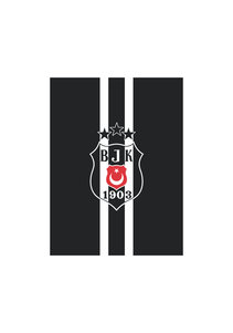 Beşiktaş Gestreifte Fahne 400*600