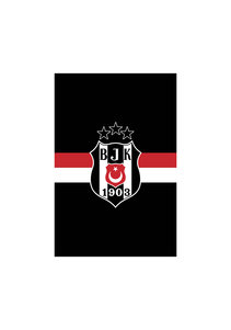 Beşiktaş Streifenfahne 400*600