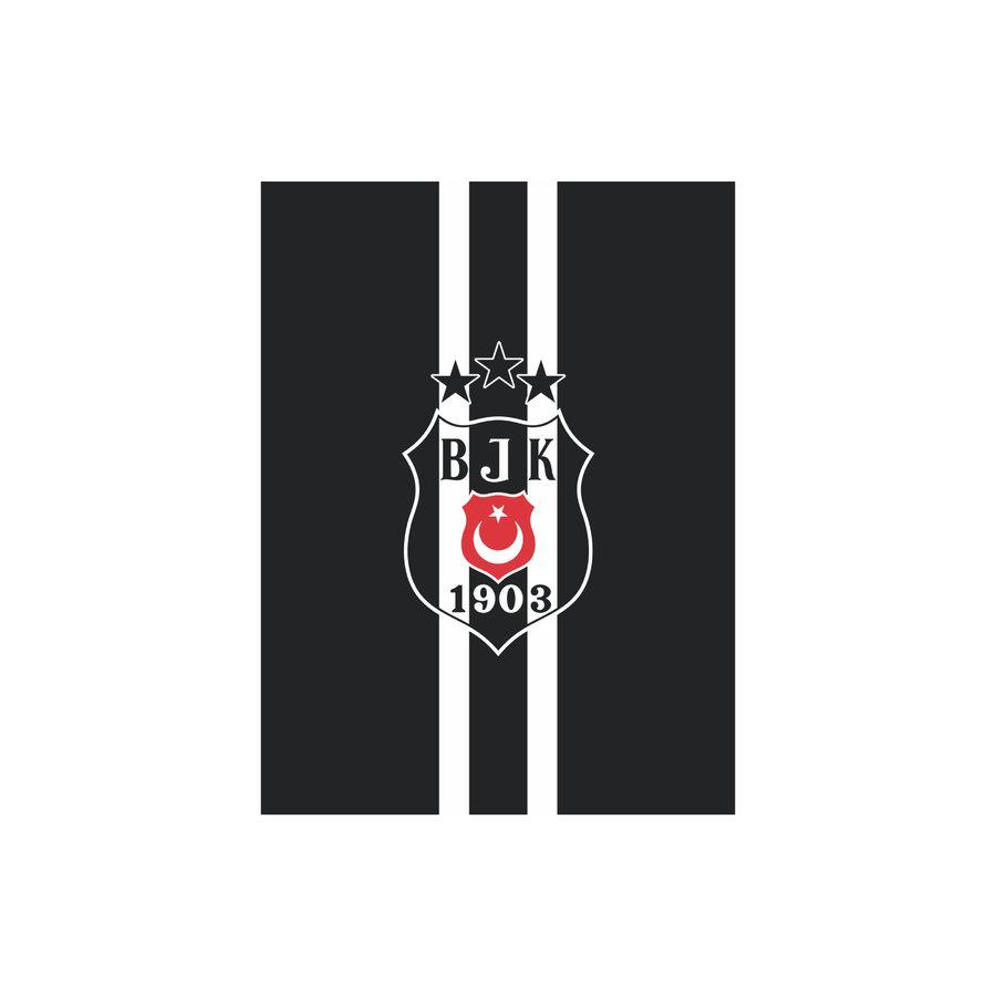 Beşiktaş Gestreifte Fahne 200*300