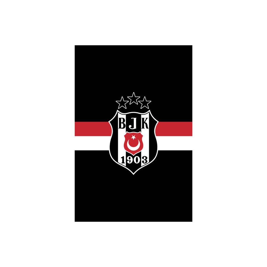 Beşiktaş Striped Flag 200*300