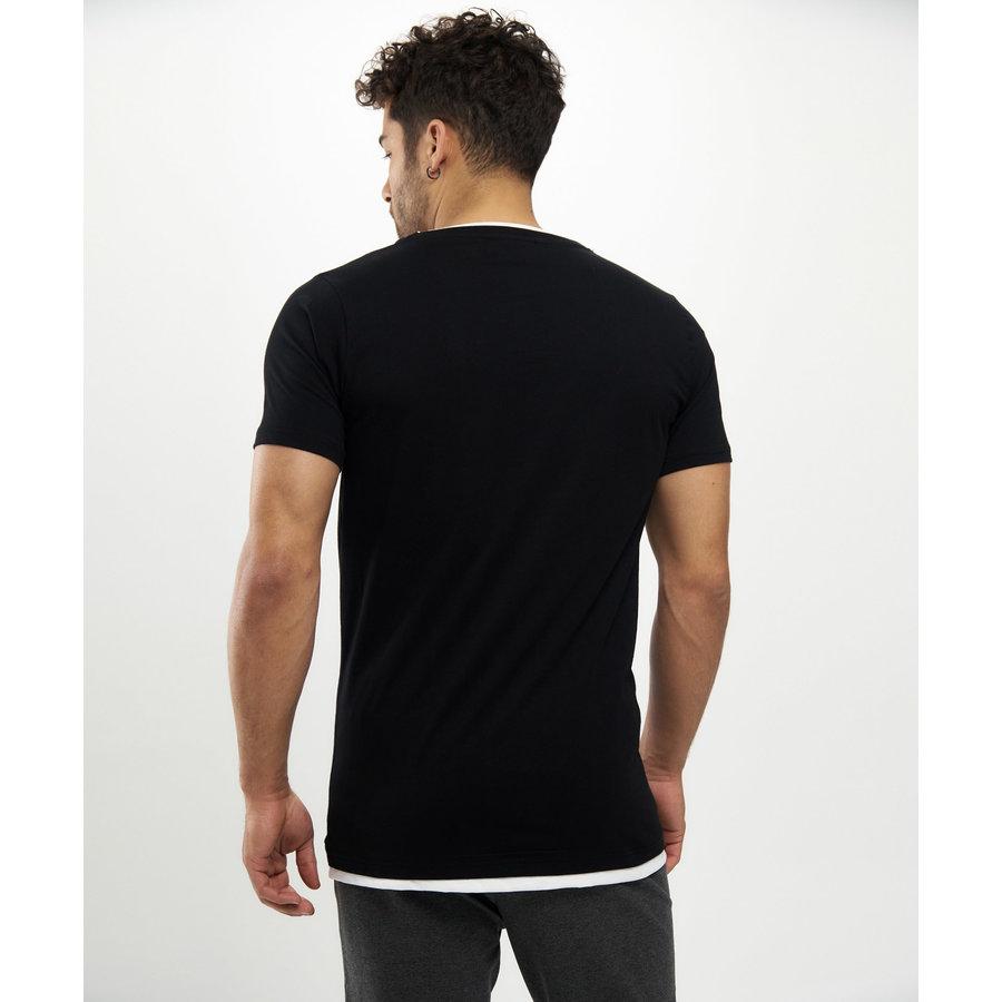 Beşiktaş Big Eagle T-Shirt Heren 7121111 Zwart