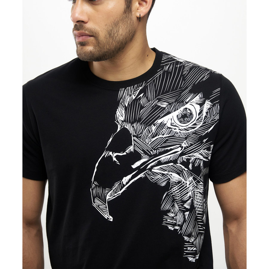 Beşiktaş Sketch Eagle T-Shirt Herren 7121112