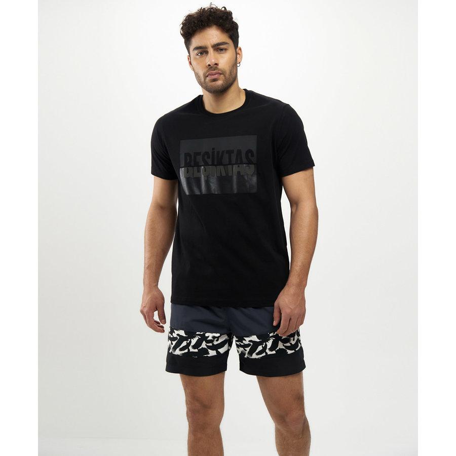 Beşiktaş Tone&Ton T-Shirt Heren 7121103 Zwart