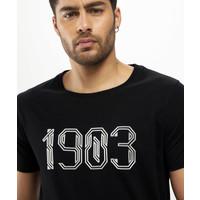 Beşiktaş 1903 T-Shirt Herren 7121106 Schwarz