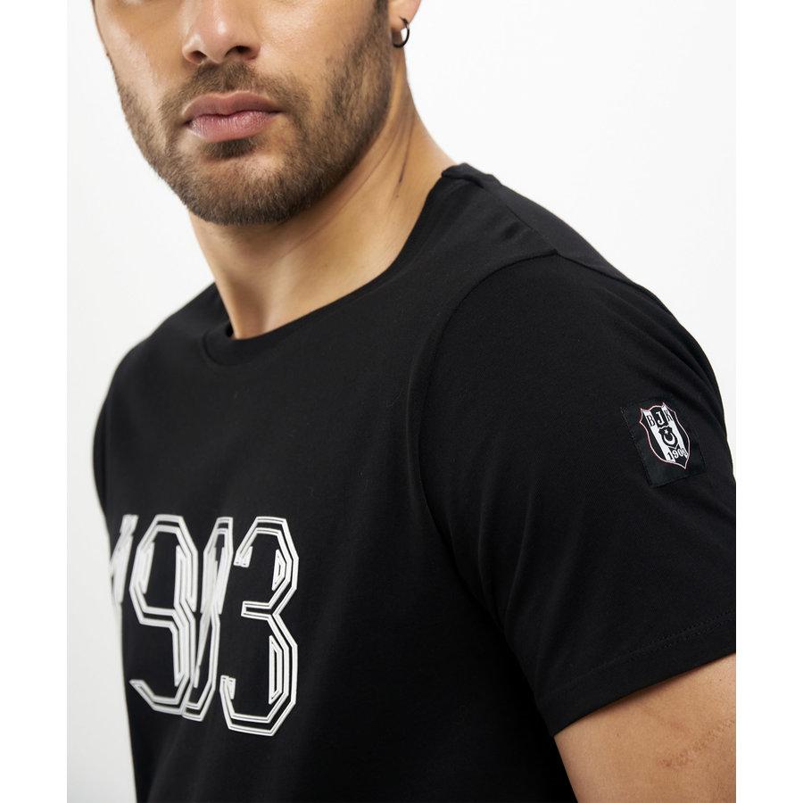 Beşiktaş 1903 T-Shirt Heren 7121106 Zwart