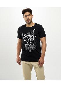 Beşiktaş College Eagle T-Shirt Heren 7121109
