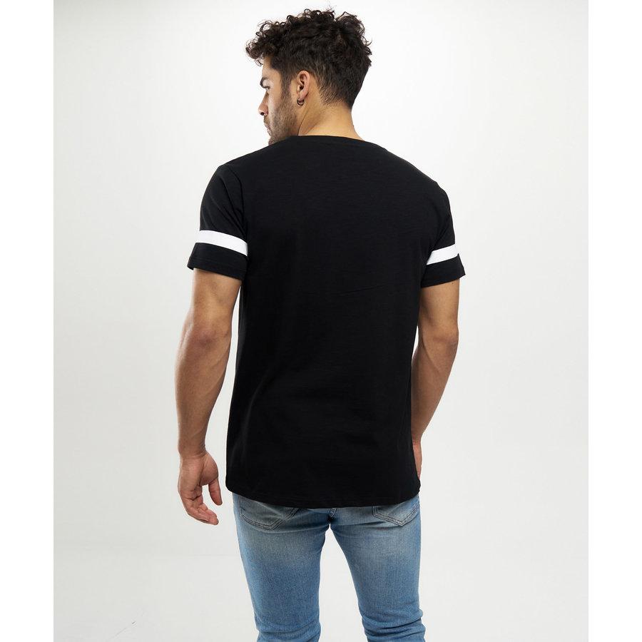 Beşiktaş College Beşiktaş T-Shirt Herren 7121104 Schwarz