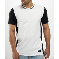 Beşiktaş Print Neck T-Shirt Heren 7121118