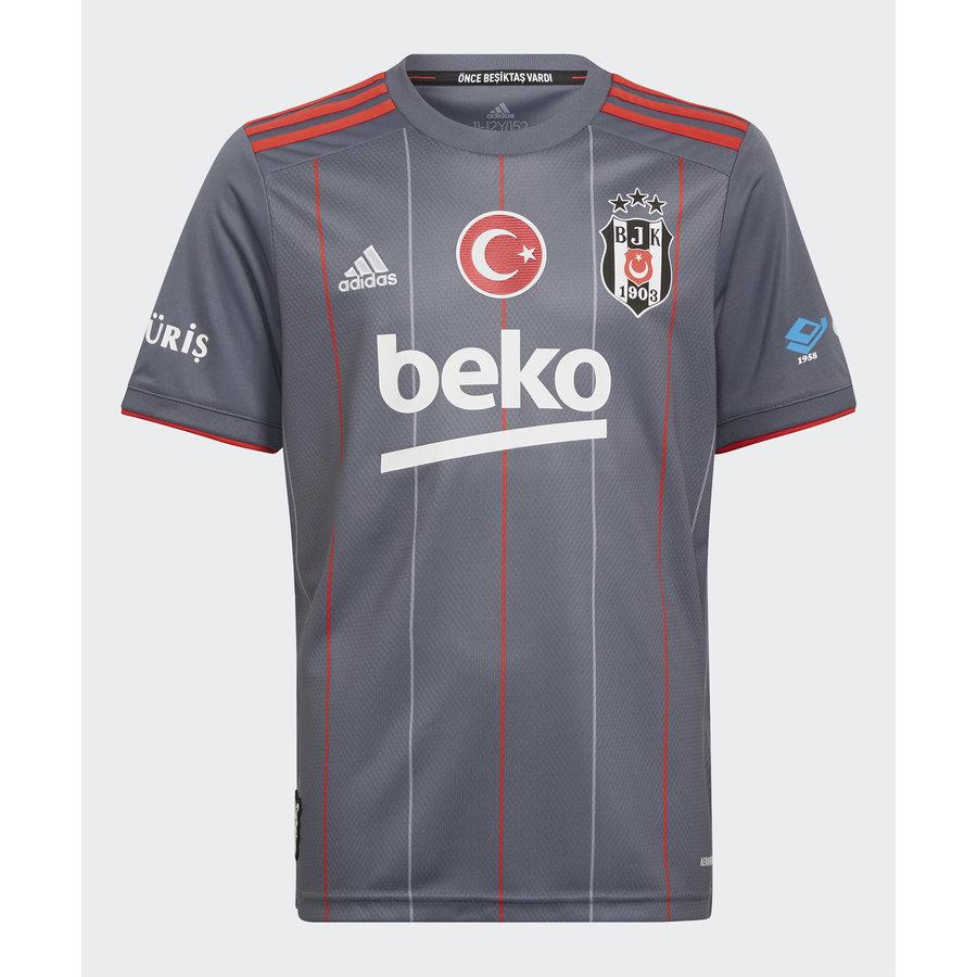 adidas Beşiktaş Maillot Gris Pour Enfants 21-22