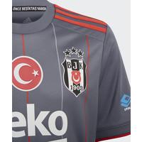 adidas Beşiktaş Kindertrikot Grau 21-22