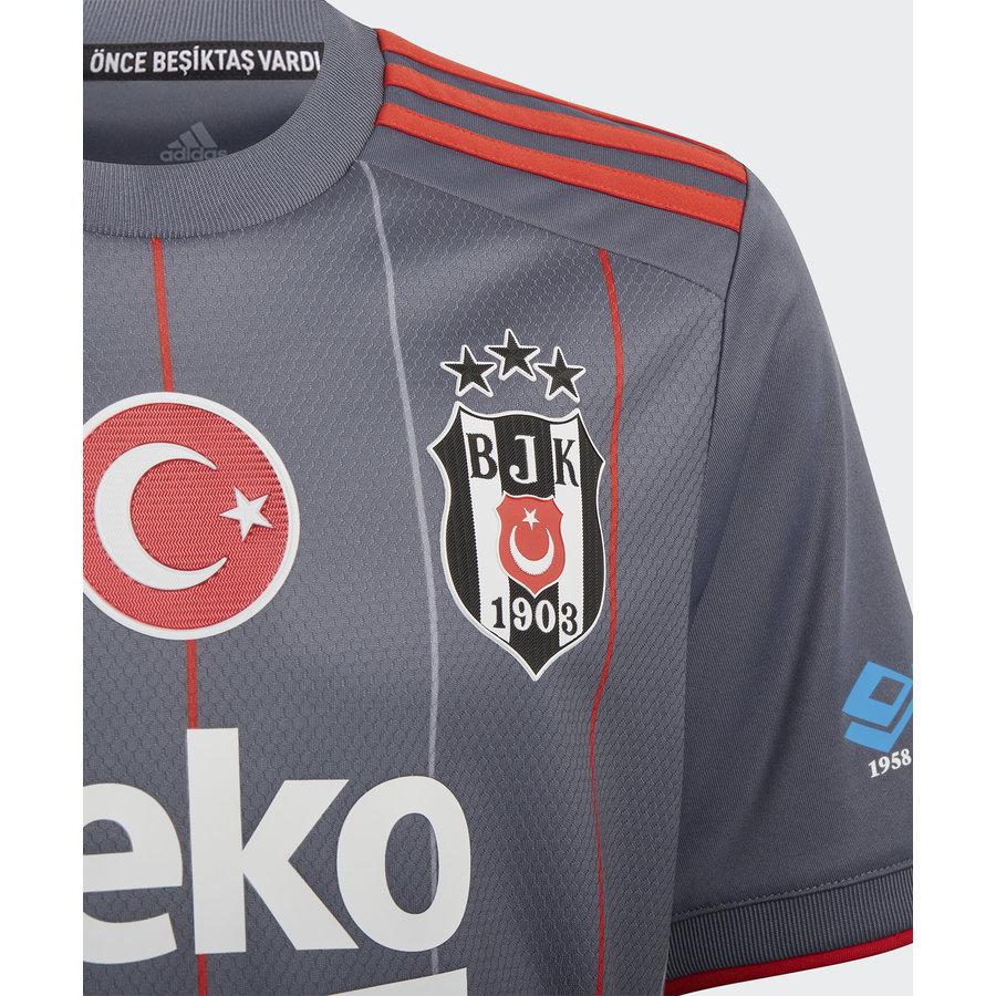 adidas Beşiktaş Kindershirt Grijs 21-22