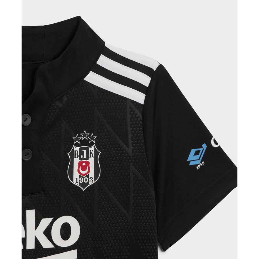 adidas Beşiktaş Mini Shirtset Schwarz 21-22