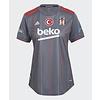 adidas Beşiktaş Maillot Gris Pour Femmes 21-22