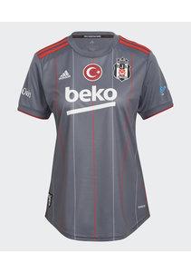 adidas Beşiktaş Damentrikot Grau 21-22