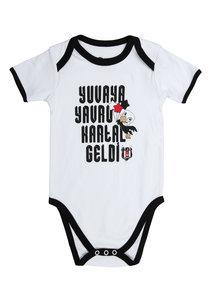 Beşiktaş Baby Kurzarmbody Y21-104