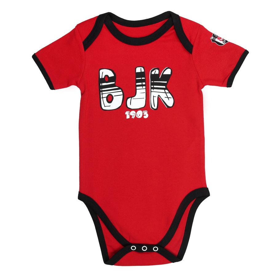 Beşiktaş Baby Body Korte Mouwen Y21-106