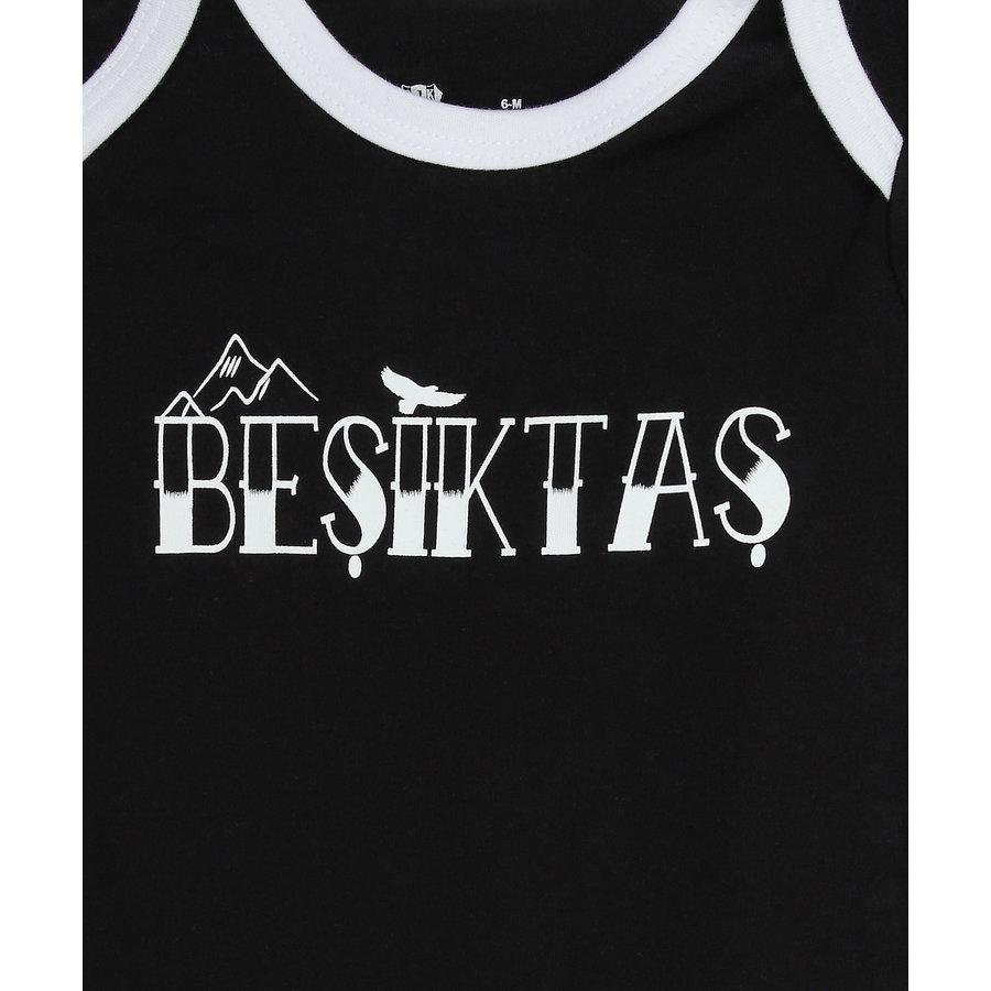 Beşiktaş Body Bébé Manches courtes Y21-108