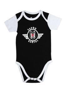 Beşiktaş Body Bébé Manches courtes Y21-109