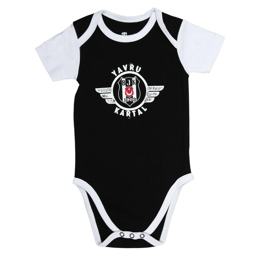 Beşiktaş Baby Kurzarmbody Y21-109