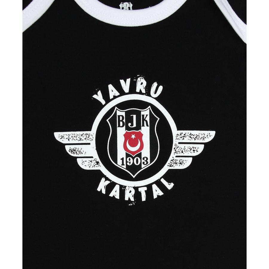 Beşiktaş Baby Body Korte Mouwen Y21-109