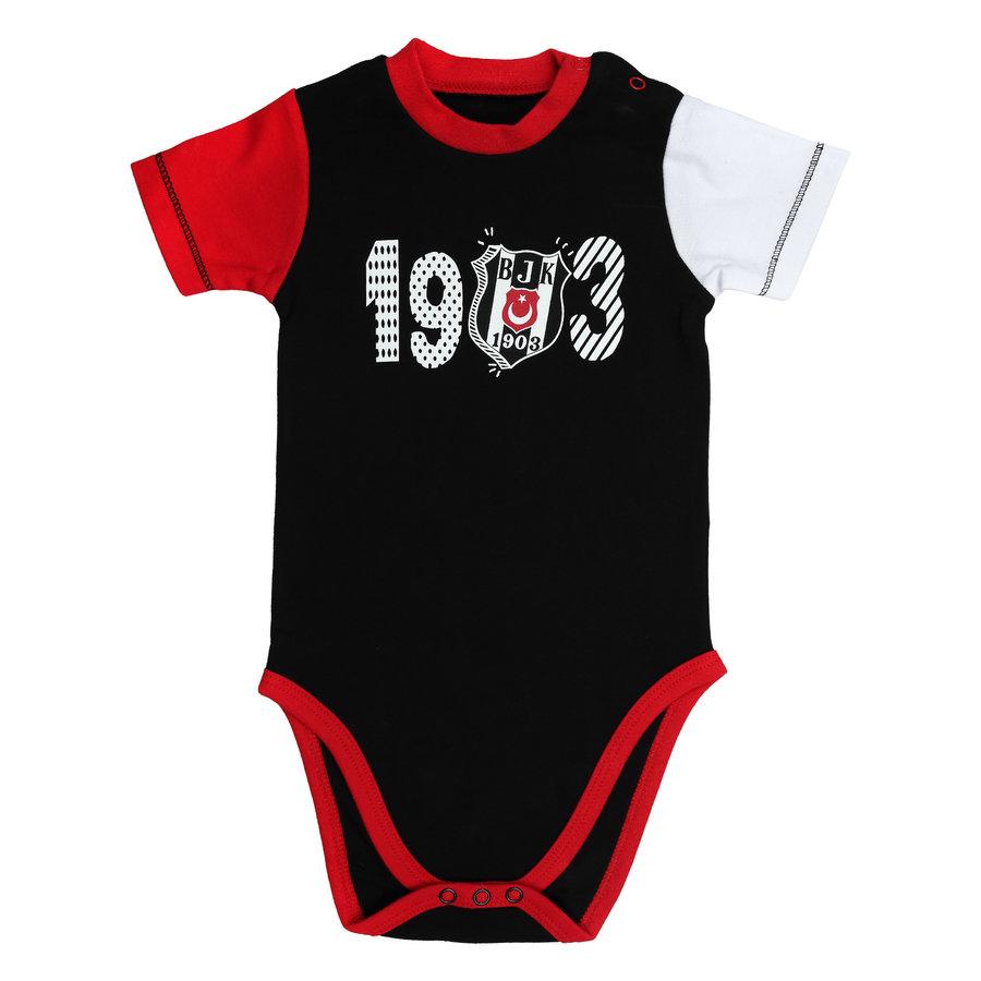 Beşiktaş Baby Kurzarmbody Y21-111