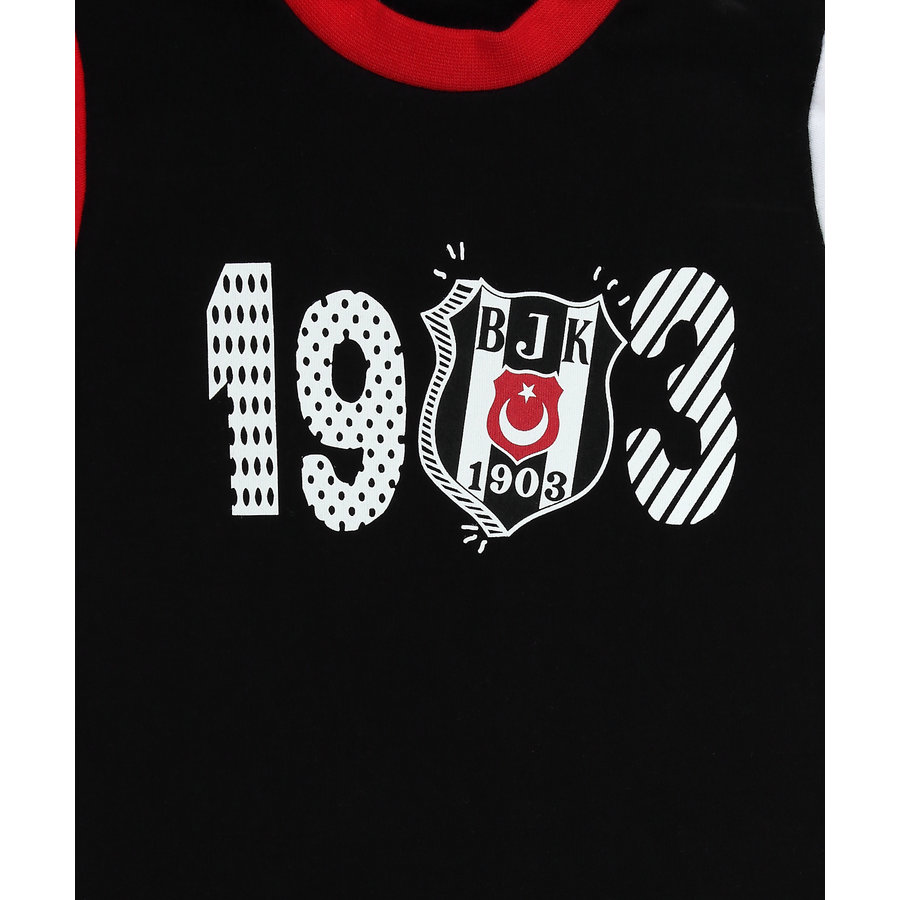 Beşiktaş Baby Body Korte Mouwen Y21-111