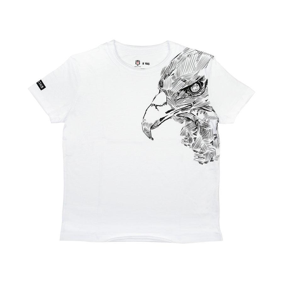 Beşiktaş Sketch Eagle T-Shirt Kinderen 6121112