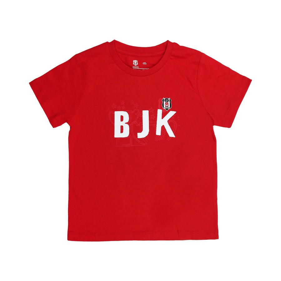 Beşiktaş Kids T-Shirt Y21-131 Red