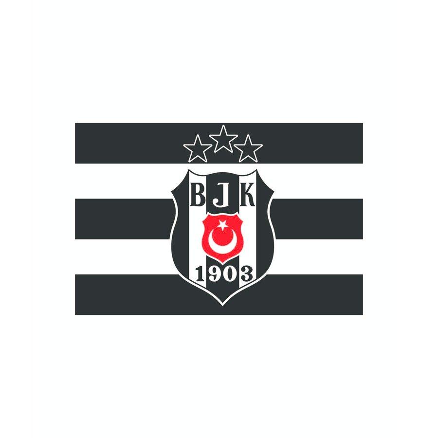 Beşiktaş Drapeau Logo 3 étoiles 70*105