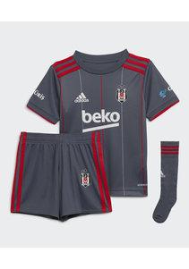 adidas Beşiktaş Mini Shirtset Grau 21-22