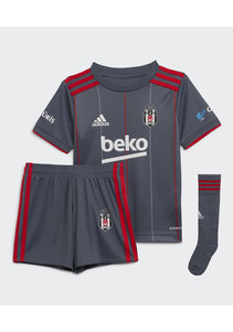 adidas Beşiktaş Mini Shirtset Grey 21-22
