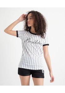 Beşiktaş Modern College T-Shirt Dames 8919121 Wit