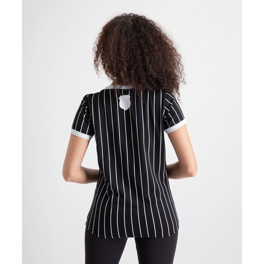 Beşiktaş Modern College T-Shirt Dames 8919121 Zwart
