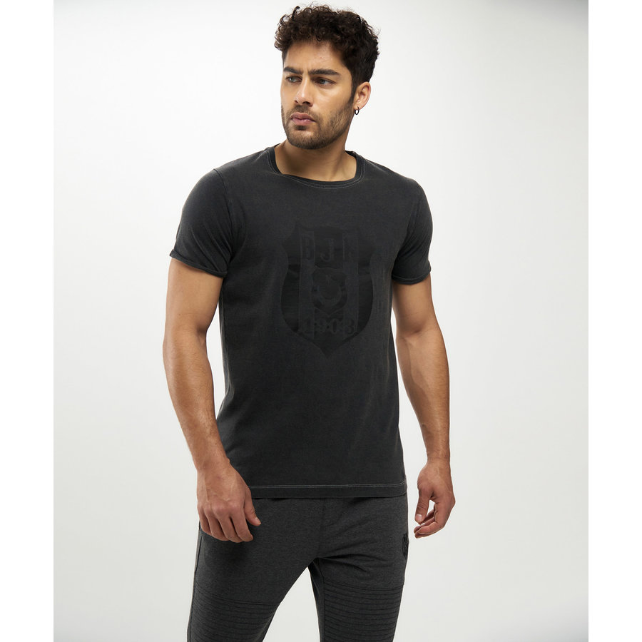 Beşiktaş Mens Monochrome Logo T-Shirt 7121123