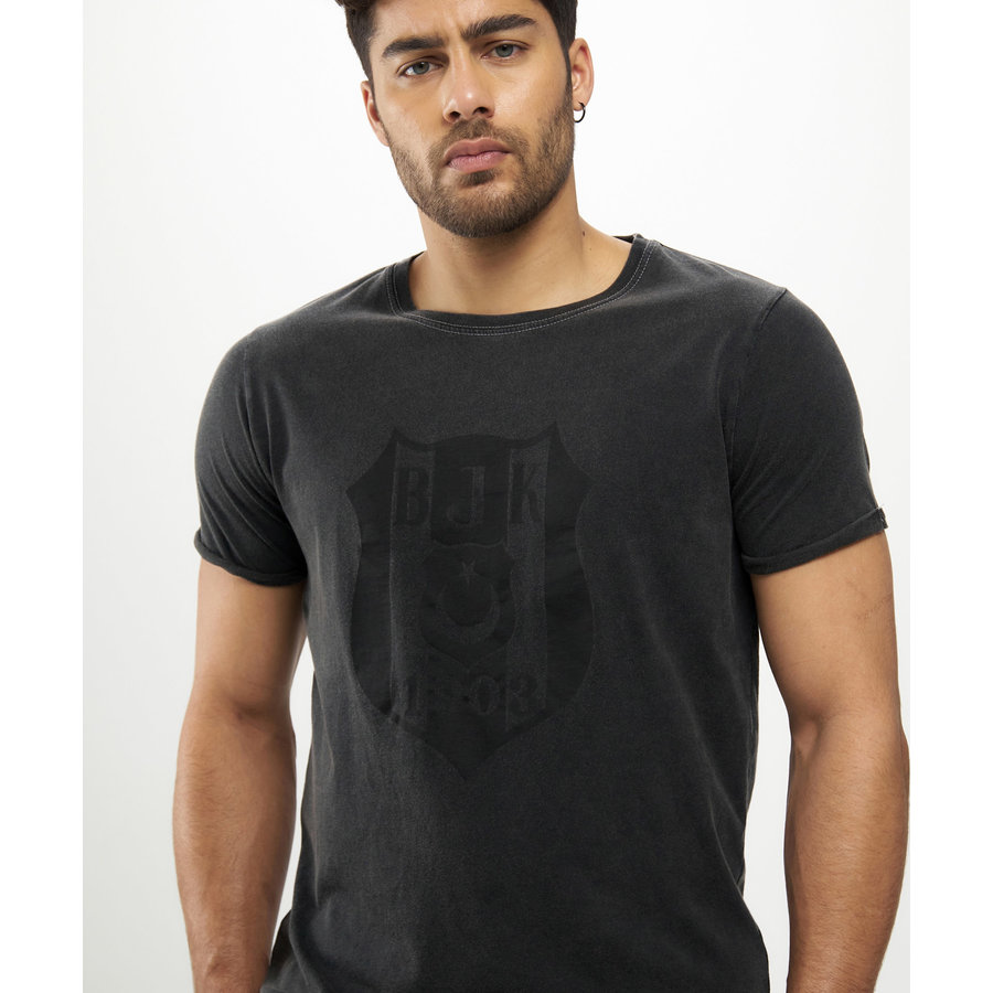 Beşiktaş Monochrome Logo T-Shirt Heren 7121123