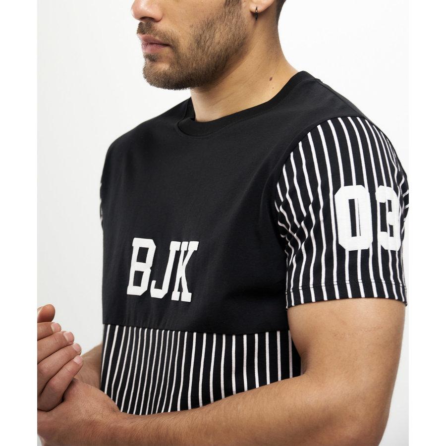 Beşiktaş Stripe BJK T-Shirt Heren 7121116