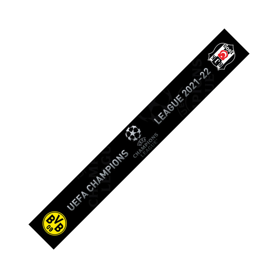 Beşiktaş 2021-2022 Dortmund Spielschal Satin