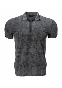 Beşiktaş Zipped Polo T-Shirt Heren 7121129