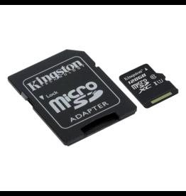 Kingston Micro SD kaart 128 GB class10