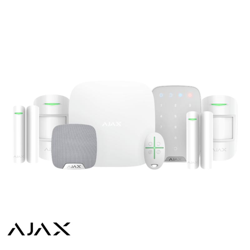 Ajax Draadloos alarmsysteem (De Luxe White)