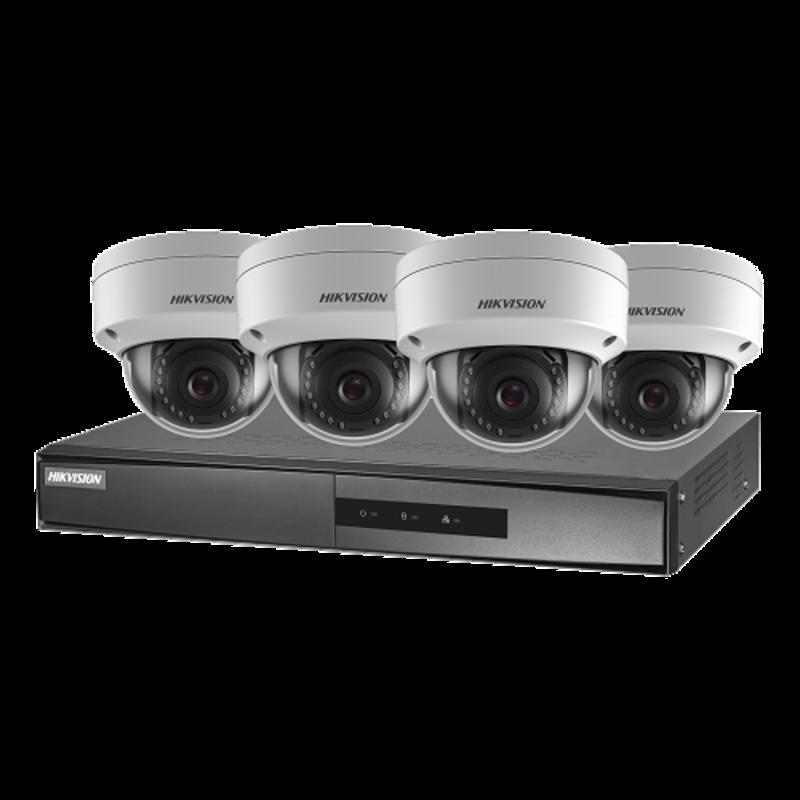 HikVision Hikvision 2MP  Dome Kit PoE NK42E1H-1T(WD)