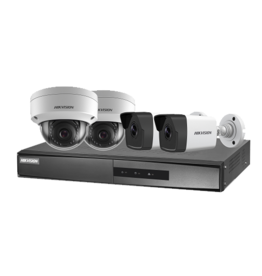 HikVision 2MP Dome/Bullet Kit PoE