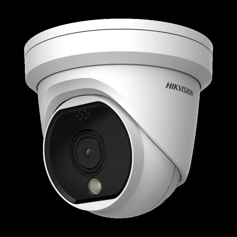 HikVision HIKVISION DS-2TD1117 - Thermische Netwerk Turret Camera