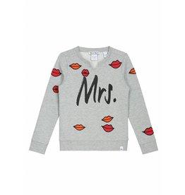 NIK & NIK Grijs Nik&Nik Gina Kiss Sweater